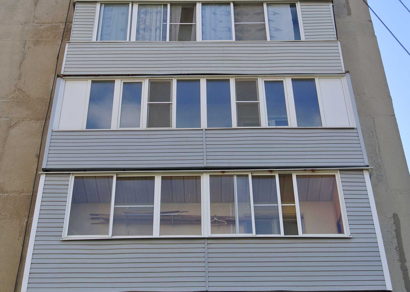 Чем обшить балкон снаружи, и какая облицовка 30